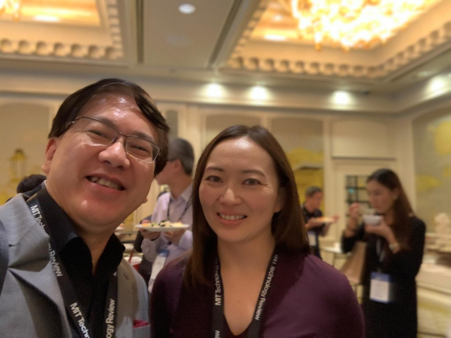 Cheryl Hung at MIT Technology Review Leadership Summit, Singapore
